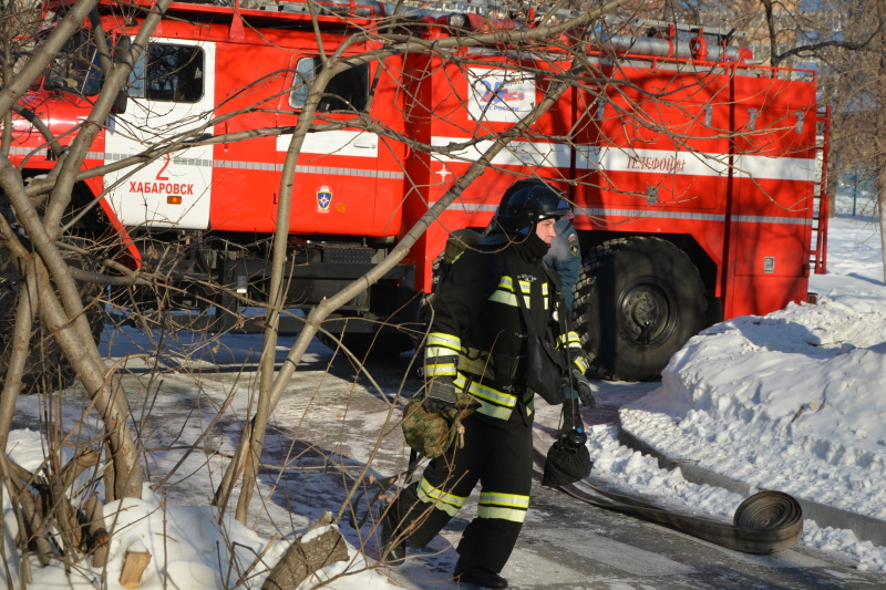Оперативная обстановка на территории Хабаровского края на 15 января 2021 г.