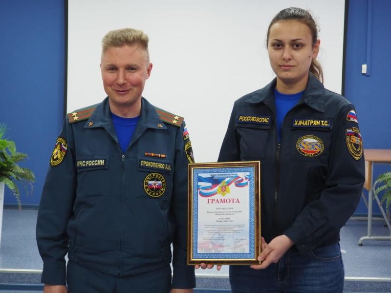 Добровольцы движения «Школы безопасности» награждены грамотами Главного управления МЧС России по Хабаровскому краю
