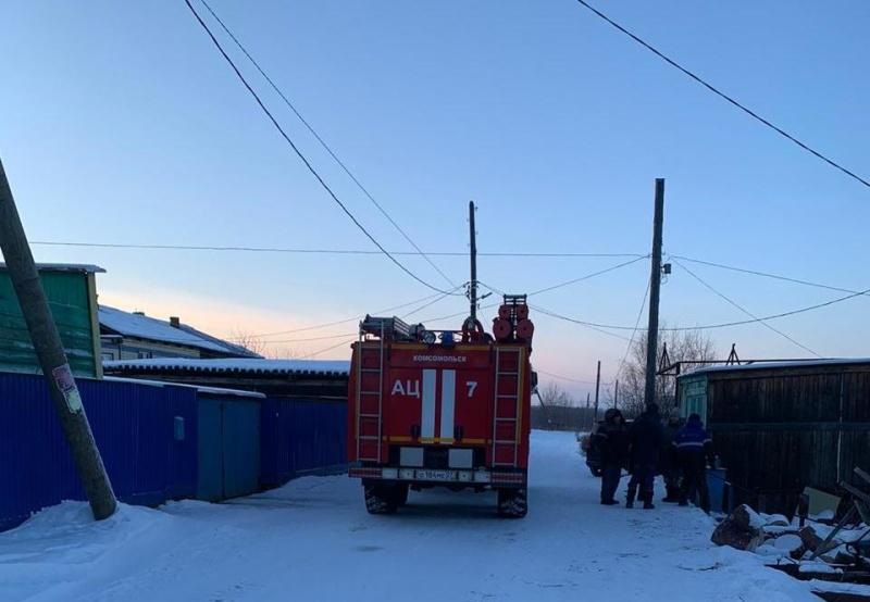 Оперативная обстановка на территории Хабаровского края на 26 января 2021 г.