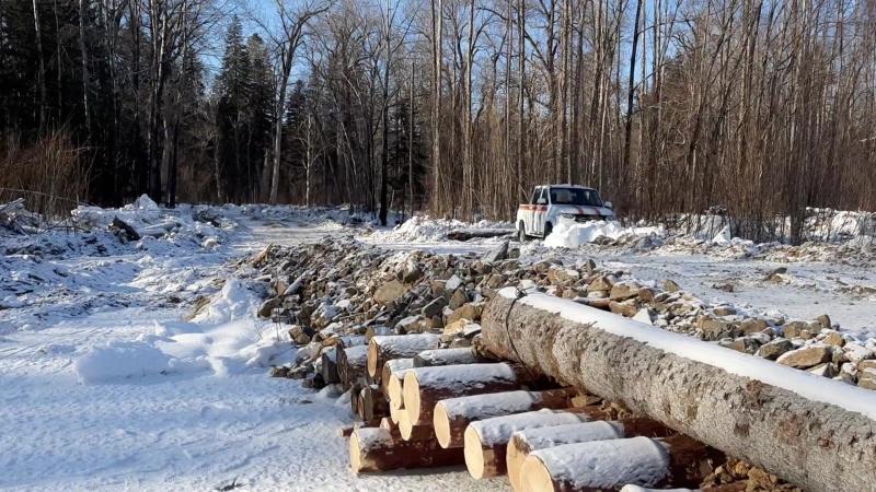 Инспекторы ГИМС МЧС России проводят активную работу по выявлению несанкционированных ледовых переправ в Хабаровском крае