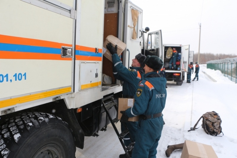 Оперативная обстановка на территории Хабаровского края на 01 февраля 2021 г.